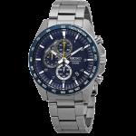 SEIKO Chronograph Motor Sports 100m Blue Dial Watch