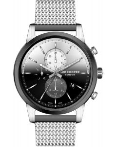 LEE COOPER CHRONOGRAPH SILVER DIAL