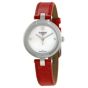 Tissot T-Trend Pinky Mother of Pearl Dial Diamond